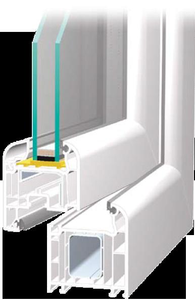BLECHER Fenstersystems mit seiner attraktiven, runden Form