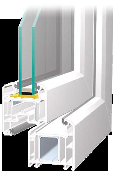 Fenstersystems BLECHER Markant